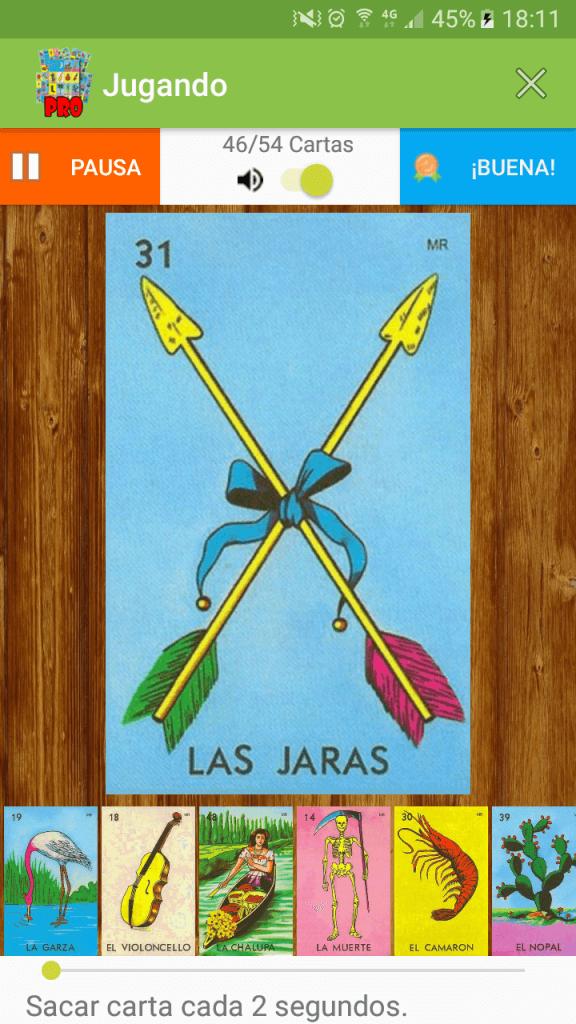 Baraja Lotería PRO - ZimbronApps.com