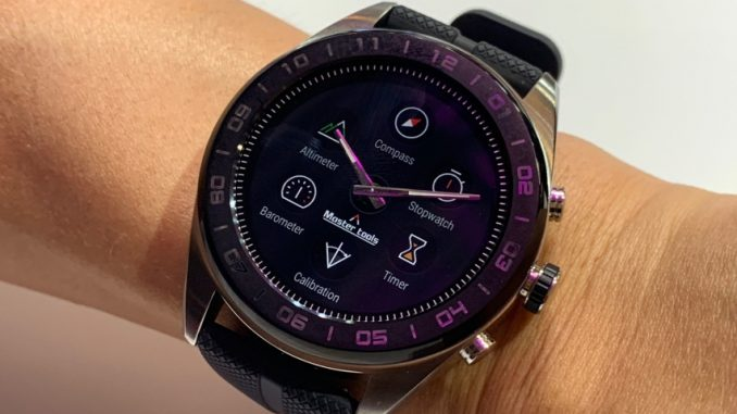LG Reloj hibrido